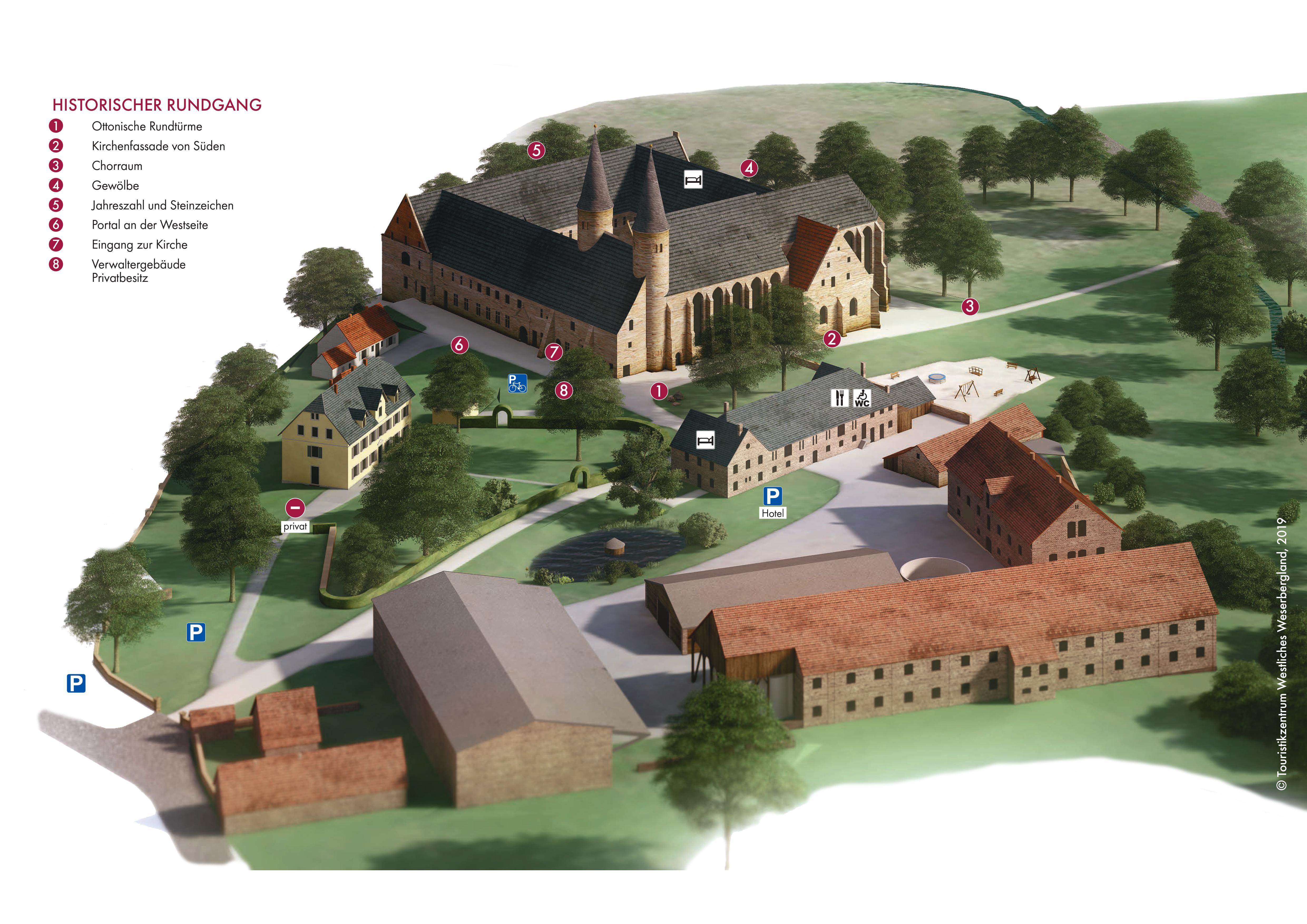 Rundgang Kloster Möllenbeck