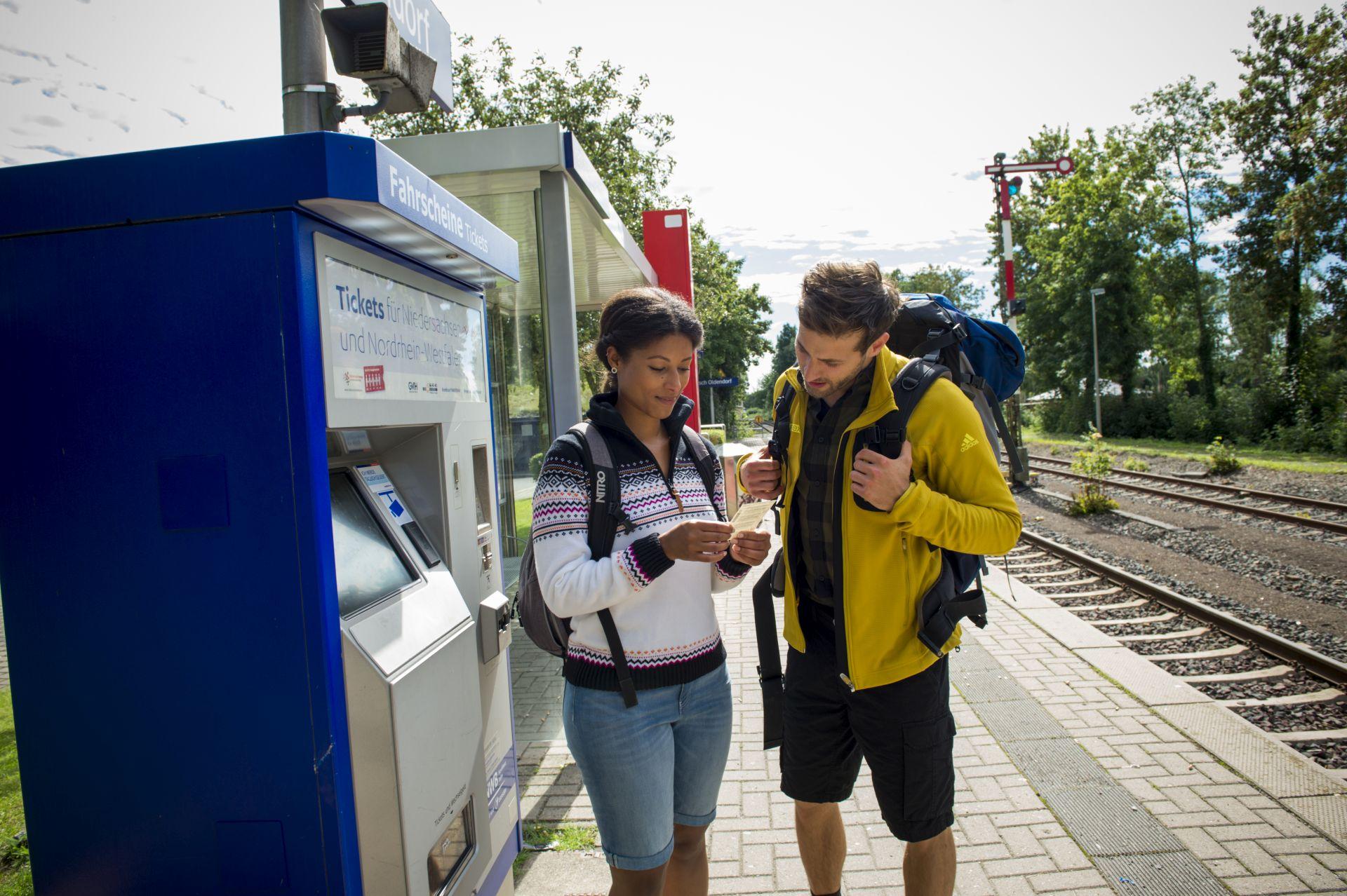 Fahrkartenautomat Hessisch Oldendorf