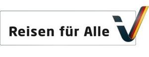 """Logo """"Reisen für Alle"""""""