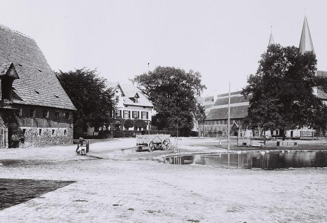 Domaenengelaende Um 1910
