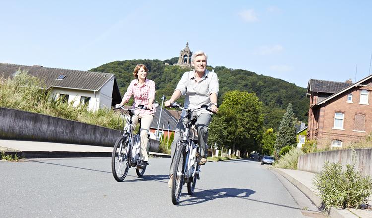E Bike Tour Porta Westfalica
