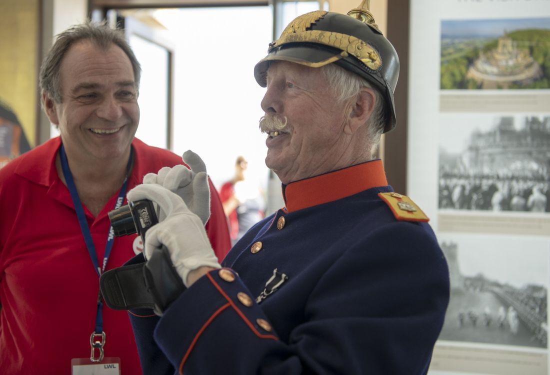Eroeffnungsfeier Des Kaiser Wilhelm Denkmals