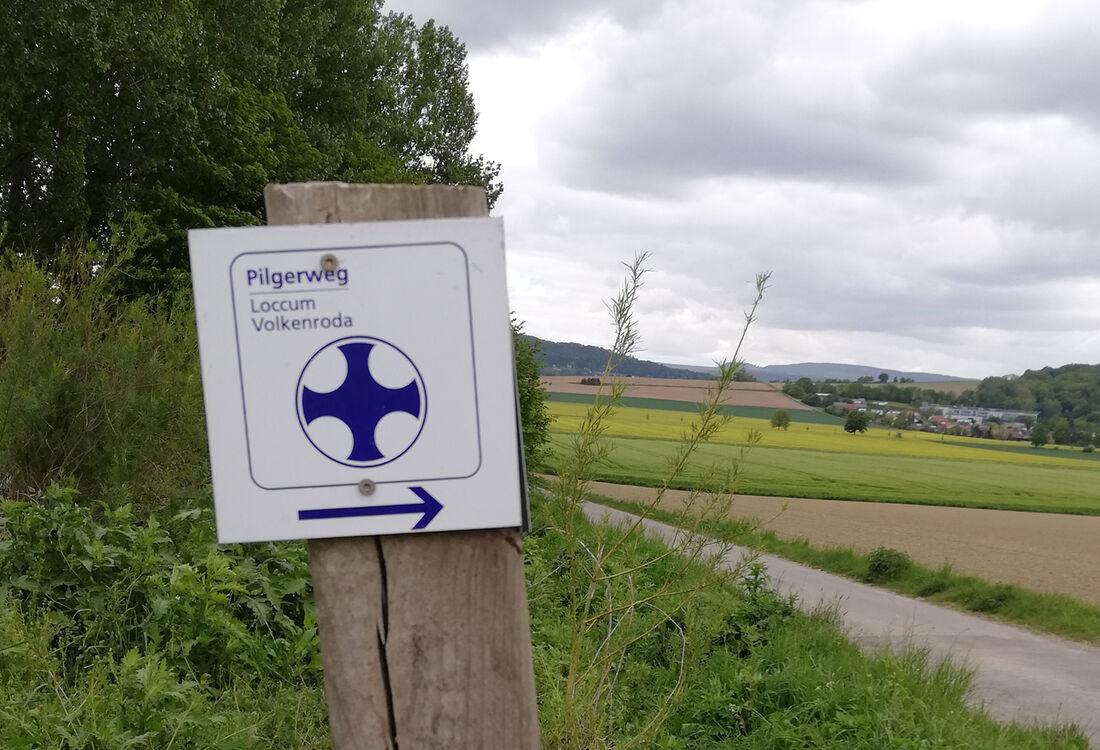 Etappe2 Kreuzung Pilgerweg