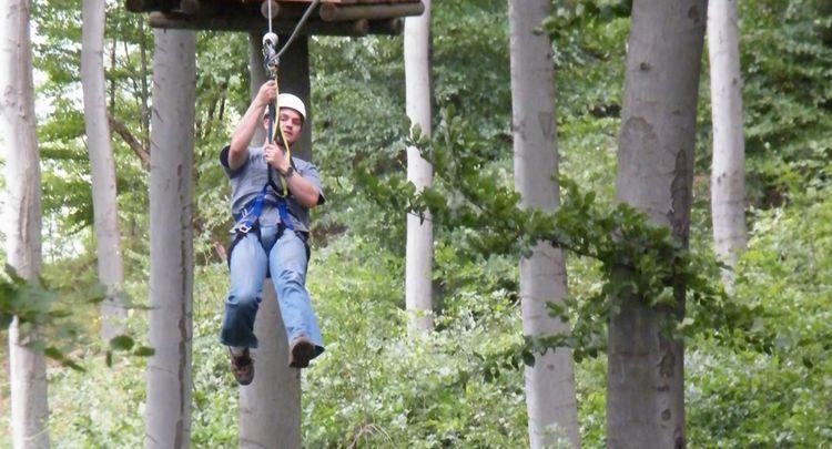 Fahrt Im Air Trail Park3