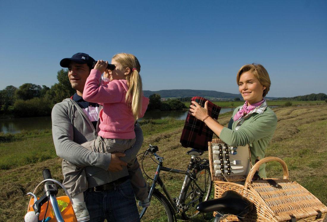 Familie Am Weser Radweg