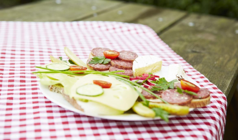 Gastronomie Vesperplatte