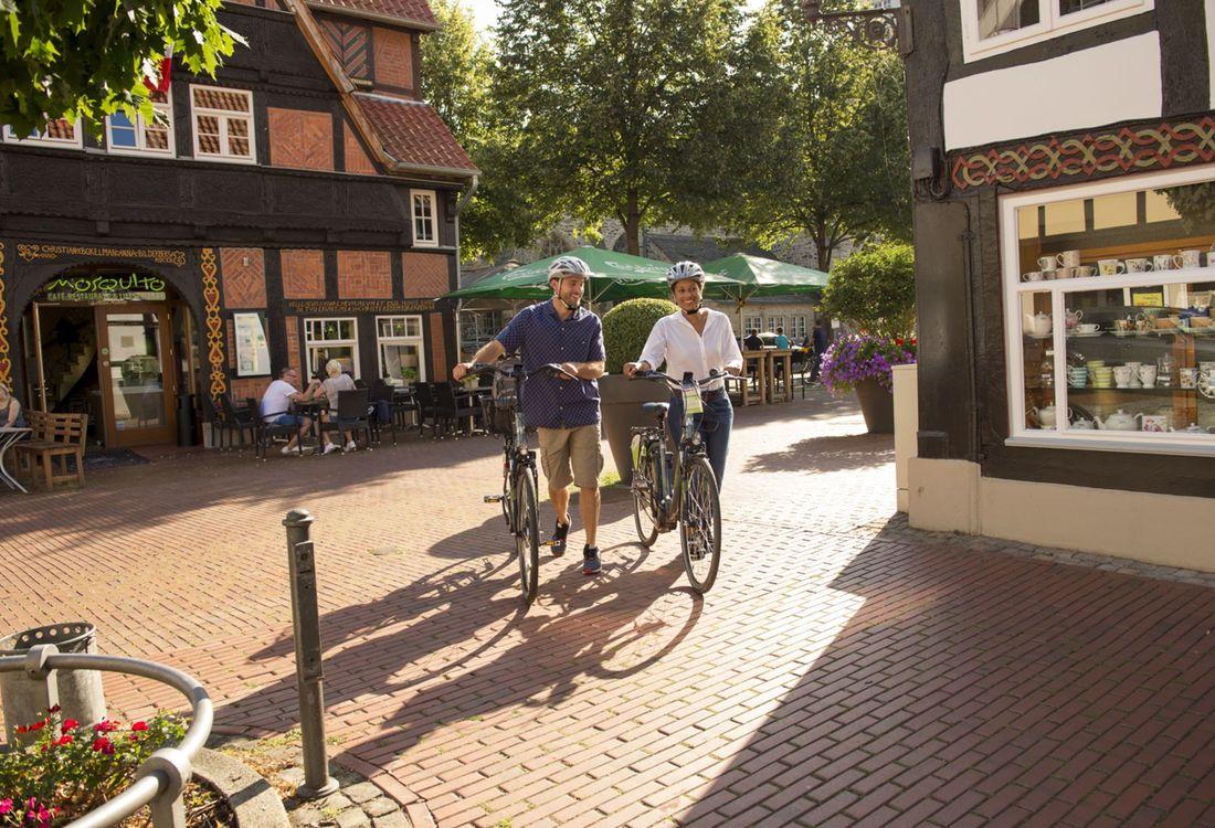 Historische Altstadt Per Rad