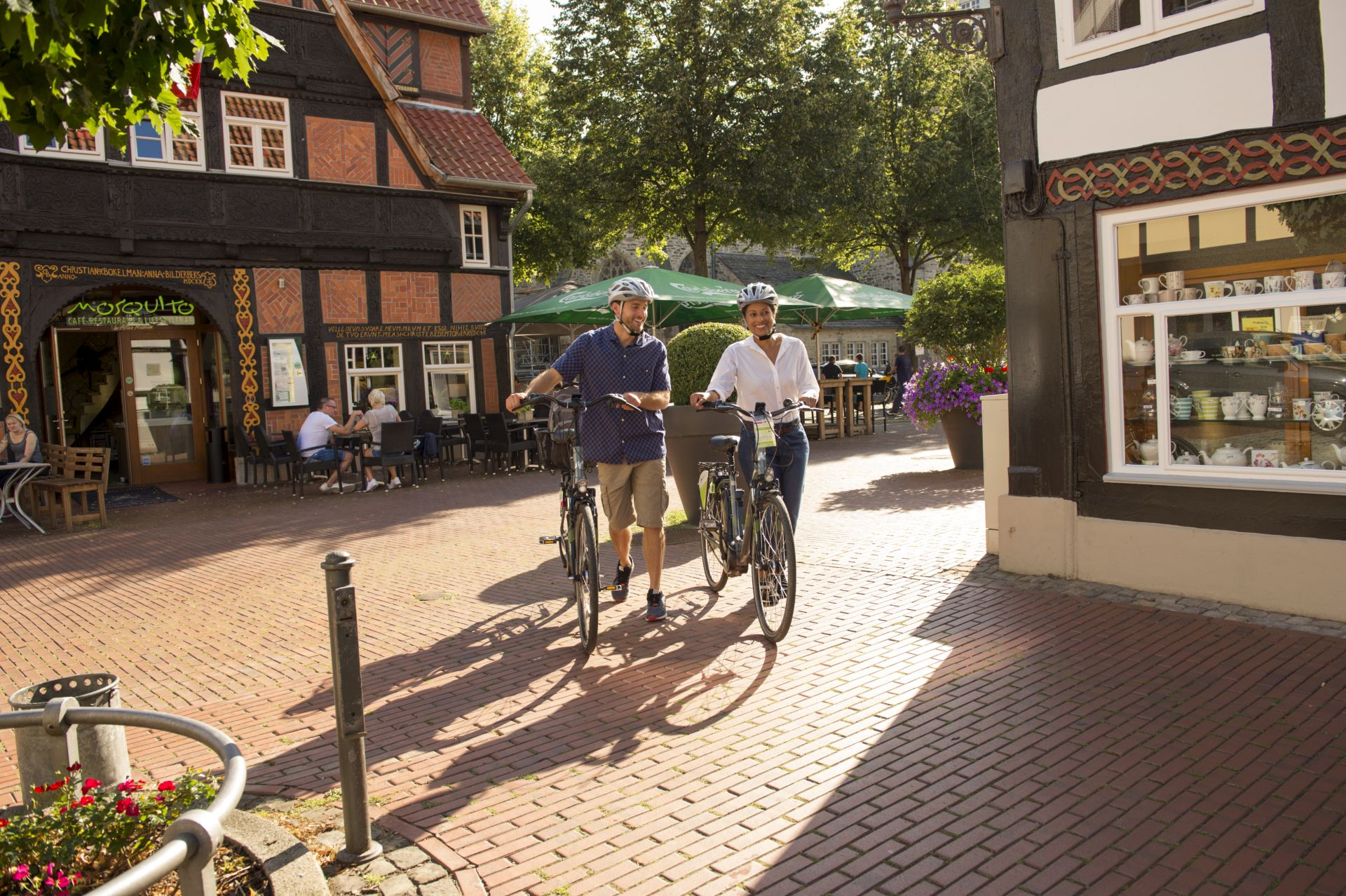 Historische Altstädte mit dem Rad erfahren