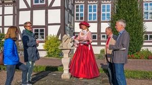 Stadtführung Freifrau von Dingelstedt