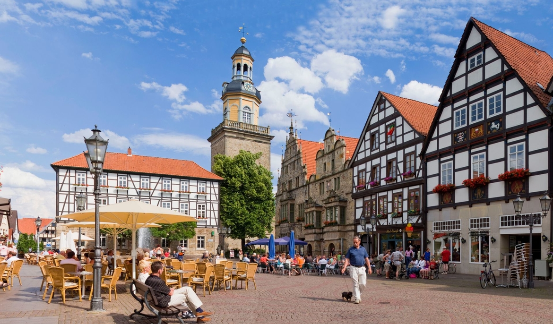 Historischer Marktplatz Rinteln Zugeschnitten 1
