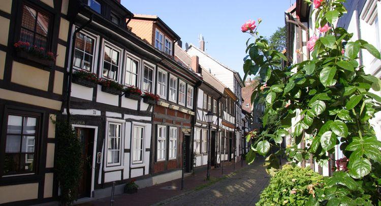 Innenstadt Hameln Pilgerweg