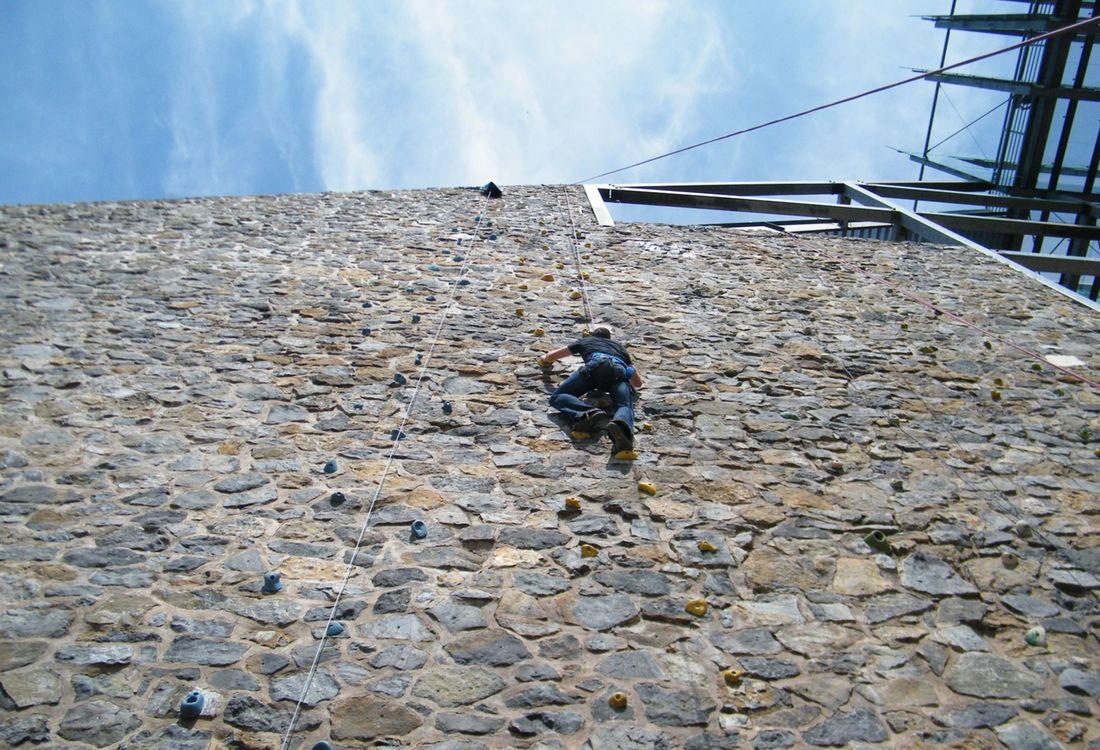 Klettern Am Jahrtausendblick