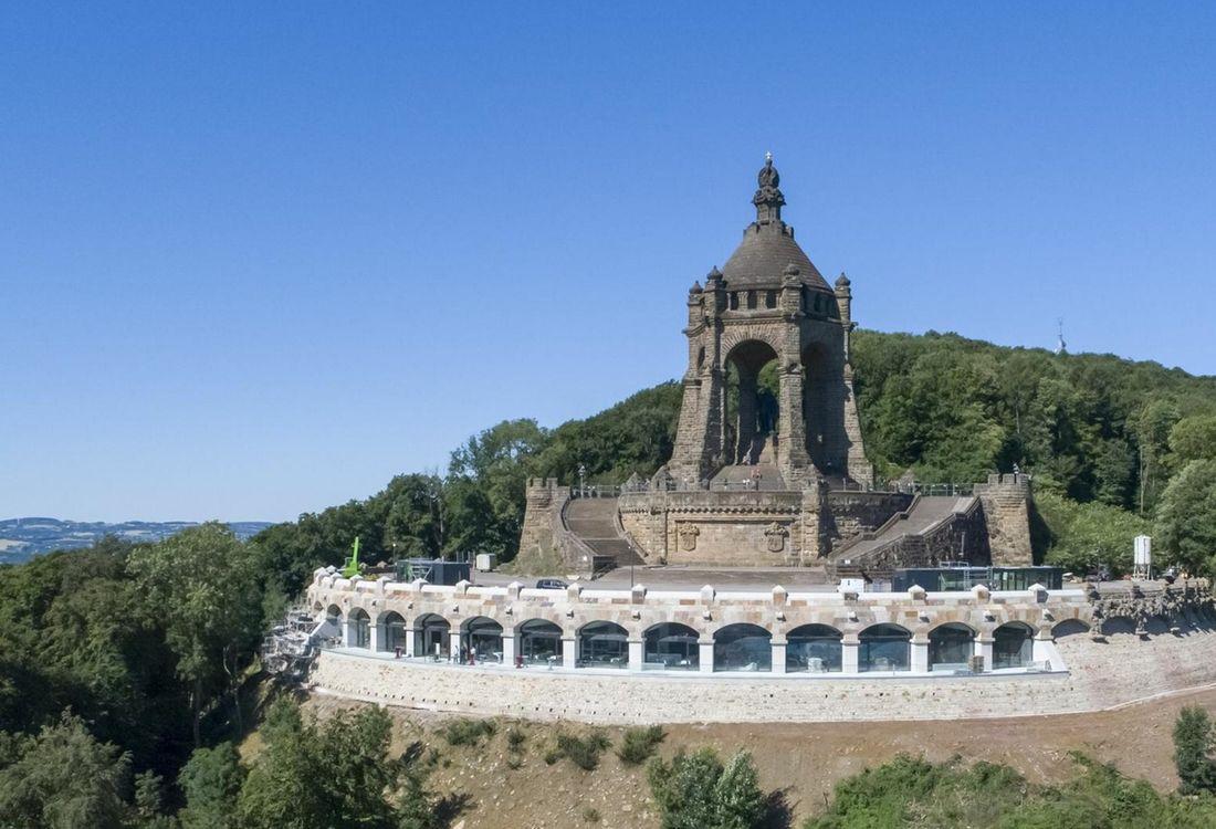 Luftbild Des Kaiser Wilhelm Denkmals