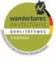 """Logo Qualitätswanderweg Wanderbares Deutschland """"traumtour"""""""