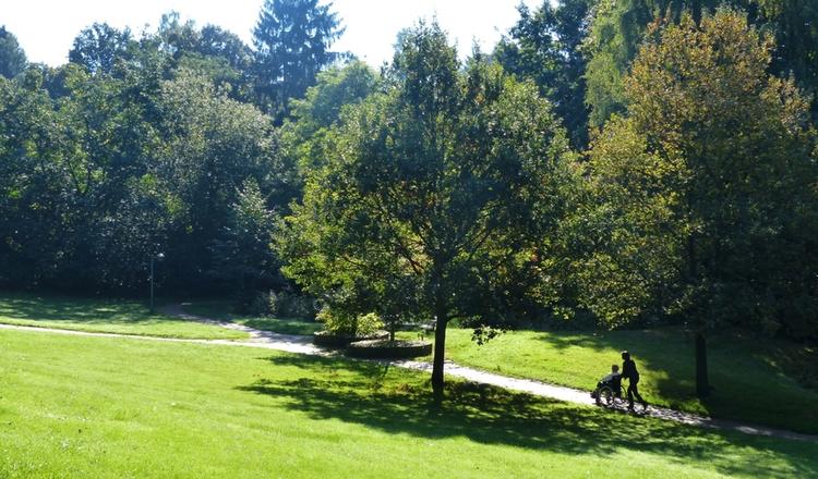Spaziergang Im Kurpark Porta Westfalica