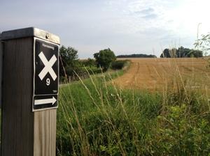 Markierung - Hansaweg