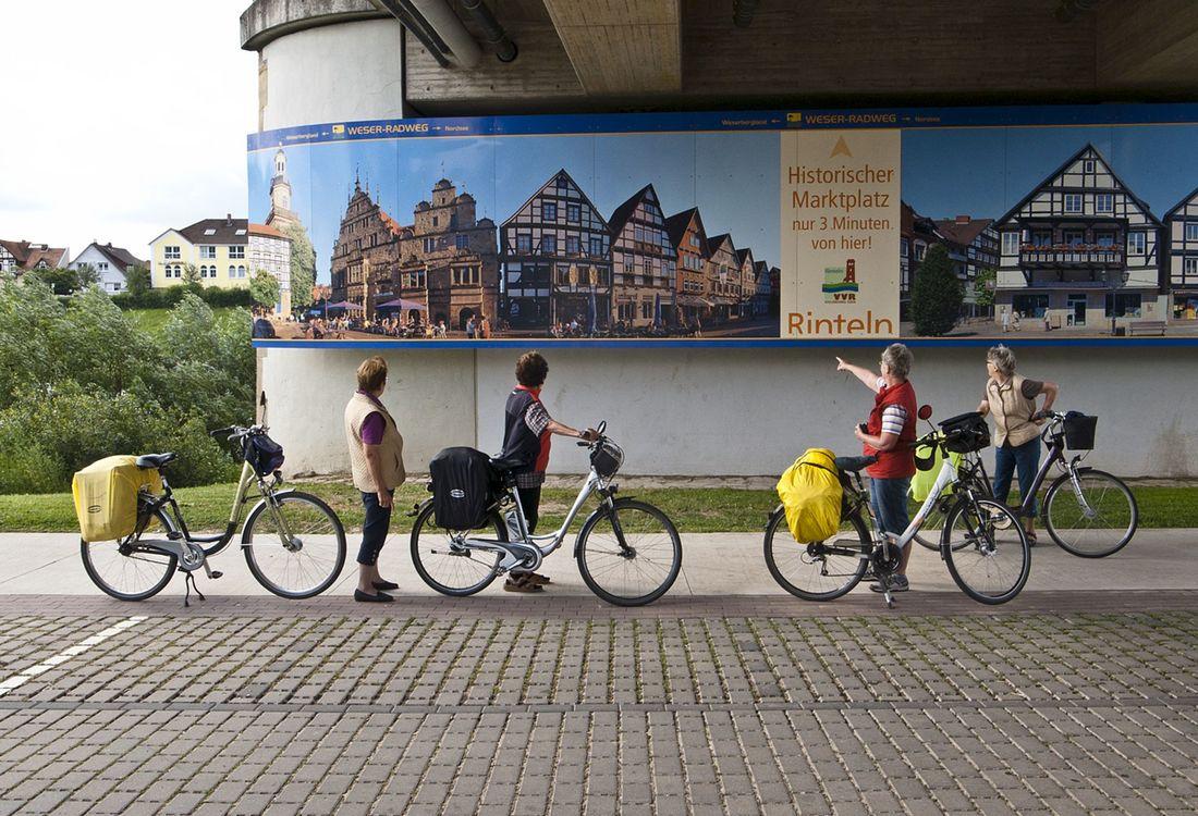 Weser Radweg In Rinteln