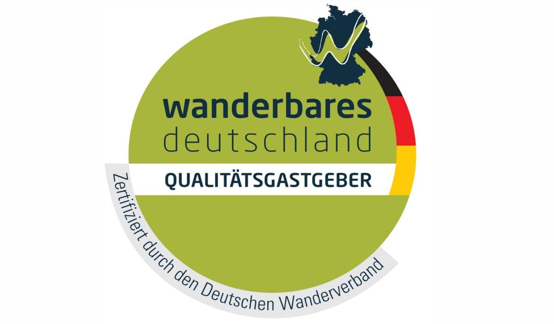 Zertifikat Qualitaetsgastgeber Wanderbares Deutschland 16 9